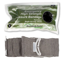 High Strength Pressure Bandage Military Battle Bloodstopper Trauma Israeli Bandage Mountainside-Healthcare.com blood stop bandage, israeli bandage, trauma bandage