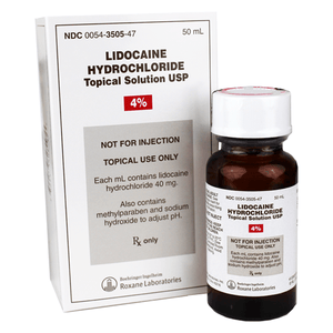 Lidocaine Hydrochloride Topical Solution 4% Topical Anesthetic Mountainside-Healthcare.com 4%, Anesthetic Solution, Glass Bottle, Lidocaine, Lidocaine Hydrochloride, new-arrivals, no-paypal, Pain Relief, Roxane Laboratories, Topical anesthetic