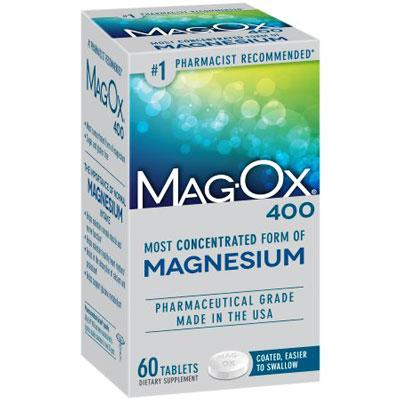 Mag-Ox 400 Magnesium Dietary Supplement Tablets Magnesium Supplement Mountainside-Healthcare.com