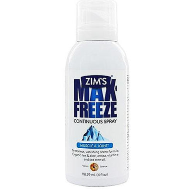 Max-Freeze Clear Muscle & Joint Pain Relief Continuous Spray Analgesic Joint & Muscle Pain Relief Mountainside-Healthcare.com Aloe Barbadensis Leaf Extract, arthritis, arthritis pain, biofreeze, gel, generic biofreeze, joint pain relief, max freeze, pain relief, Perfecta Products, Tea Tree Oil