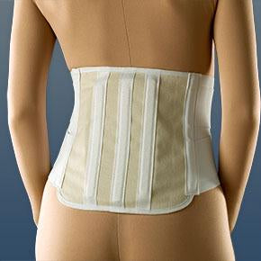 Lumbosacral Back Brace Support with Dual Compression Double Padding Lumbosacral Back Brace Mountainside-Healthcare.com Back Brace, back support, Compression support, Lumbar Brace, Lumbar Support, lumbosacral support