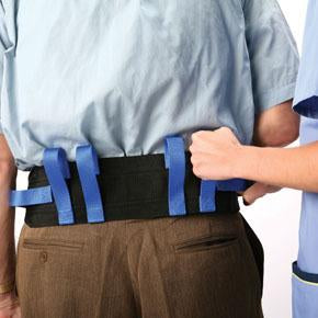 Deluxe Gait Belt Gait Belt Mountainside-Healthcare.com ambulation, fall prevention, gait belt, hand loops, transfer