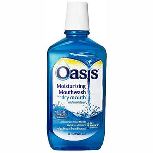 Oasis Dry Mouth Moisturizing Mouthwash Dry Mouth Treatment Mountainside-Healthcare.com dry mouth treatment, Relieves dry mouth