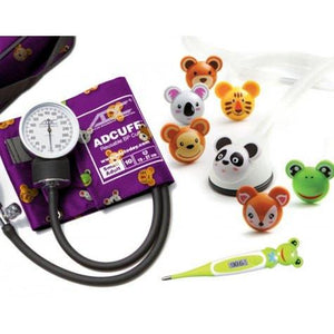 Adimals Pediatric Stethoscope, Thermometer & Blood Pressure Kit Pediatric Stethoscope Mountainside-Healthcare.com Adimals Pediatric Stethoscope, Blood Pressure, Pediatric Stethoscope