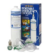 Portable Emergency Oxygen Tank Kit (Single Pack) Oxygen Tank Mountainside-Healthcare.com Home Oxygen Tank, Oxygen Tank