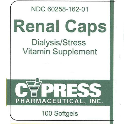 Buy Renal Multivitamin Supplement Caplets for Dialysis Health online used to treat Multivitamin for Dialysis Patients - Medical Conditions