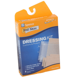 Spenco 2nd Skin Sports Dressing Kit Gauze, Tapes & Bandages Mountainside-Healthcare.com 2nd Skin, Dressing Kit, Spenco, Sports Bandages