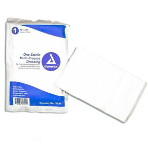 Multi-Trauma Dressing, Non-Woven, Sterile Gauze Pads Mountainside-Healthcare.com