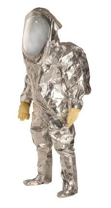 Tychem 10000 Heavy Duty Aluminized Foil Fabric Chemical Protection Suit Mountainside Healthcare Com