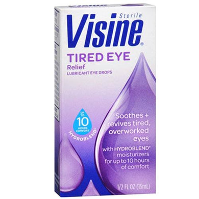 Visine Tired Eye Relief Drops Tired Eye Relief Drops Mountainside-Healthcare.com All Natural, Dry Eyes, Eye Relief, Redness, Similasan, Tired Eye Relief Drops