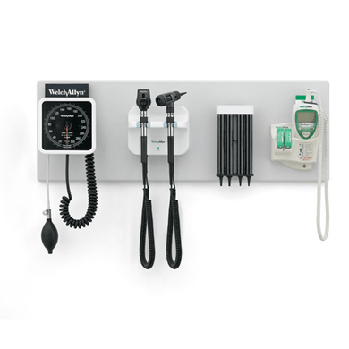 Welch Allyn Green Series 777 Integrated Wall System Diagnostic Equipment Mountainside-Healthcare.com 777, Integrated Wall System, Thermometer, Wall System, Welch Allyn