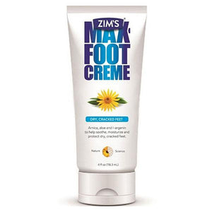 Zim's Max Foot Cream for Dry Cracked Skin Treatment Moisturizing Cream Mountainside-Healthcare.com dry skin, Dry Skin Healing Lotion, Foot Cream, foot lotion, Lotion, Moisturizer