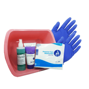 Adult Incontinence Clean Up Kit Incontinence Clean Up Mountainside-Healthcare.com All in one, incontinence, Incontinence Clean up, Incontinence Kit, MME-101
