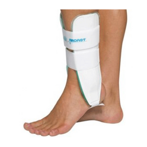 Aircast Air Stirrup Ankle Brace Ankle Braces Mountainside-Healthcare.com aircase, ankle brace, ankle inversion, ankle support, duplex aircell, reduce swelling, sprained ankle, stir up