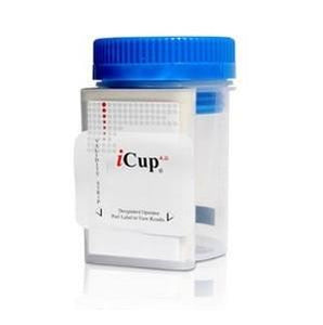 Alere iCup A.D. All Inclusive Drug Screen Split Key Cup 25/Case Drug Testing Supplies Mountainside-Healthcare.com