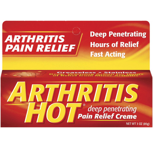 Arthritis Hot Deep Penetrating Pain Relief Creme, 3 oz Pain Management Mountainside-Healthcare.com