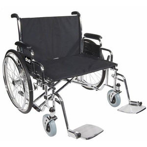 Bariatric Sentra EC Heavy Duty Extra Wide Wheelchair Wheelchairs Mountainside-Healthcare.com