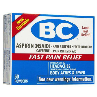 BC Headache Powder 24 Packets Headaches Mountainside-Healthcare.com