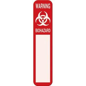 Biohazard Warning Magnetic Door Sign Isolation Supplies Mountainside-Healthcare.com