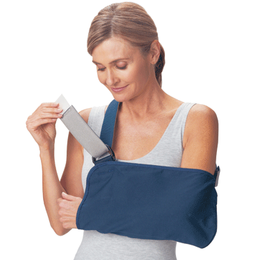 ProCare Blue Vogue Cast Arm Sling Arm Slings Mountainside-Healthcare.com