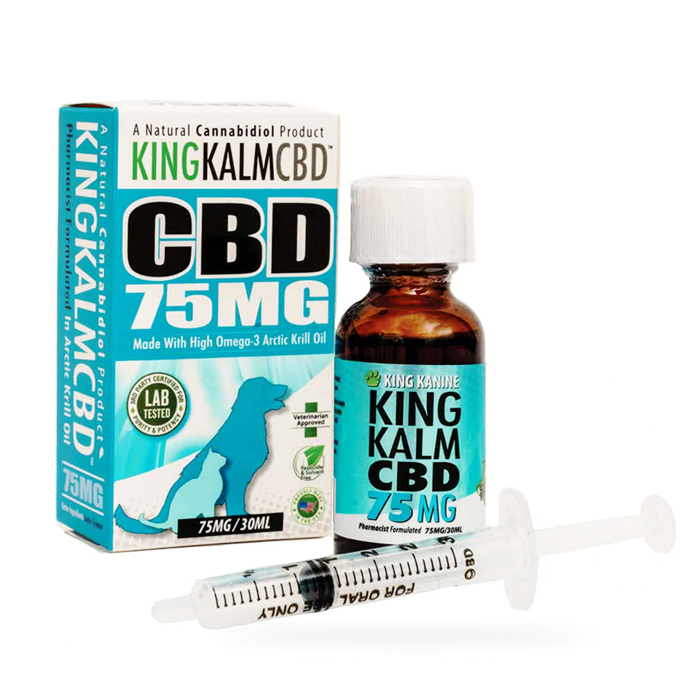 CBD KingKalm for Dogs 75mg