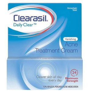Clearasil Vanishing Acne Treatment Cream 1 oz Skin Care Mountainside-Healthcare.com