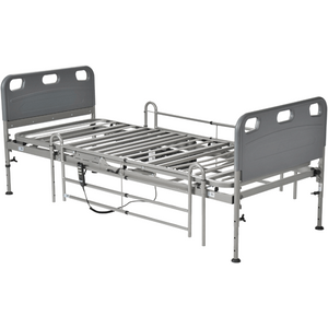 Competitor Semi-Electric Bed with Full Length Side Rails Hospital Beds Mountainside-Healthcare.com