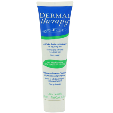 Bayer Dermal Therapy Foot Massage Cream, 3.5 oz Tube Diabetes Supplies Mountainside-Healthcare.com