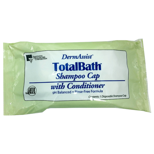 DermAssist TotalBath Shampoo Cap with Conditioner Personal Care & Hygiene Mountainside-Healthcare.com