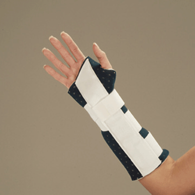 DeRoyal Universal Cutaway Wrist and Forearm Splint Wrist Splints Mountainside-Healthcare.com