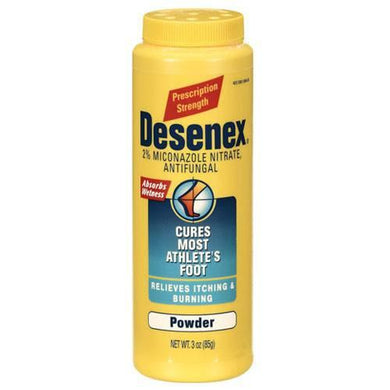 Desenex Antifungal Powder 3 oz Shaker Bottle Antifungal Medications Mountainside-Healthcare.com