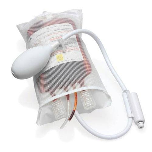 500mL Pressure Infuser Bag with Stopcock Valve and Piston Gauge Infuser Bag Mountainside-Healthcare.com Disposable Infusion Bag, Infuser Bag, Infusion Bag
