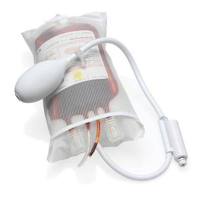 1000mL Pressure Infuser Bag with Stopcock Valve and Piston Gauge Infuser Bag Mountainside-Healthcare.com Disposable Infusion Bag, Infuser Bag, Infusion Bag