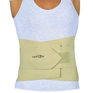 DonJoy Elastic Lumbar Support Back Braces Mountainside-Healthcare.com