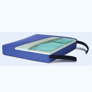 Buy APEX Dual Pod Chamber Gel Wheelchair Cushion online used to treat Wheelchair Cushions - Medical Conditions