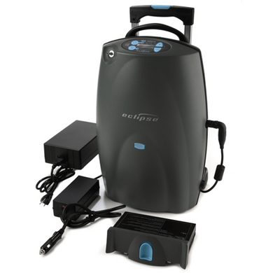Eclipse 5 Transportable Oxygen Concentrator with Accessories Oxygen Concentrators Mountainside-Healthcare.com