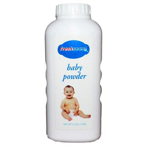 Fresh Scent Baby Powder 4 oz Skin Care Mountainside-Healthcare.com baby powder, diaper, diaper rash, fine powder, fresh scent, powder