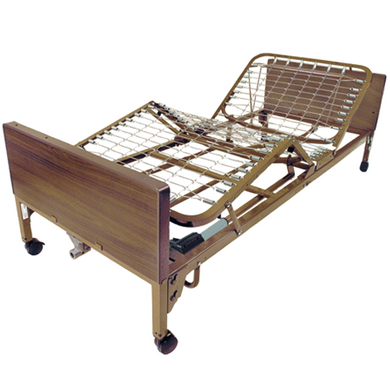 Drive Medical Full Electric Hospital Bed Hospital Beds Mountainside-Healthcare.com