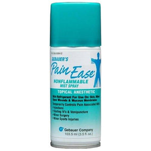 Pain Ease Aerosol Mist Spray Topical Anesthetic Spray Mountainside-Healthcare.com Gebauer Pain Spray, Pain ease Spray, Topical Anesthetic