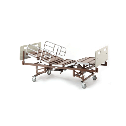 Bariatric Full Electric Hospital Bed Package 750 Capacity Hospital Beds Mountainside-Healthcare.com
