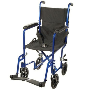 Aluminum Transport Chair Transport Wheelchairs Mountainside-Healthcare.com