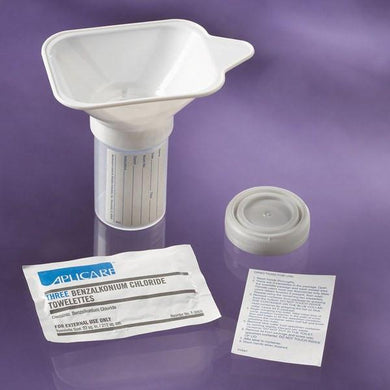 Midstream Collection Kit with Castile Soap Towelettes 25/Case Urine Specimen Collection Mountainside-Healthcare.com Urine Specimen Cup