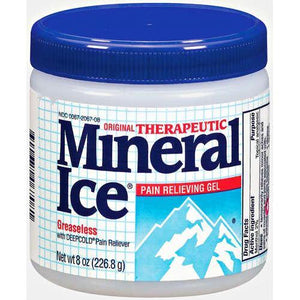 Mineral Ice Pain Relieving Gel Pain Management Mountainside-Healthcare.com