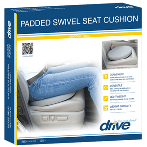 Buy Padded Swivel Seat Cushion with 360 Degree Rotation online used to treat Daily Living Aids - Medical Conditions