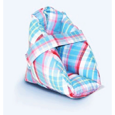 Plaid Quilted Heel Protector Heel Protectors Mountainside-Healthcare.com