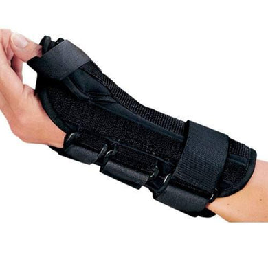 ProCare ComfortForm Wrist Brace with Abducted Thumb Thumb Splints Mountainside-Healthcare.com