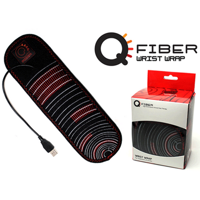 Qfiber Infrared Heat Therapy Wrist Wrap Pain Management Mountainside-Healthcare.com