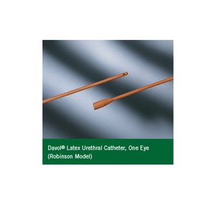Buy Red Rubber Robinson Catheter with 1 Eye online used to treat Catheters - Medical Conditions