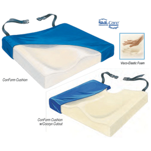 Buy Skil-Care Visco ConForm Cushion online used to treat Foam Wheelchair Cushions - Medical Conditions