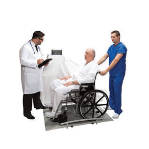 Digital Wheelchair Dual Ramp Scale with Remote LCD Display Scales Mountainside-Healthcare.com